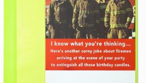 Funny Firefighter Birthday Cards Funny Firemen Funny Birthday Cards Papyrus