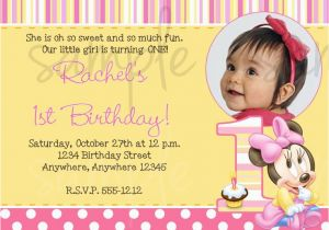 Funny First Birthday Invitation Wording 1st Ideas