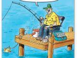 Funny Fishing Birthday Cards Old Fisherman Joke Card Birthday Quotes Pinterest