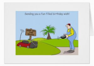 Funny Gardening Birthday Cards Happy Birthday Gardening Cards Funny Gardener Card