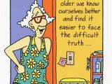 Funny Getting Old Birthday Cards Face the Difficult Truth Funny Humorous Birthday Card by