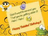 Funny Happy Belated Birthday Quotes 17 Best Funny Happy Birthday Jokes Images Ever Wiki How
