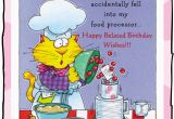 Funny Happy Belated Birthday Quotes Funny Belated Birthday Quotes Quotesgram