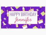 Funny Happy Birthday Banners Fun Happy Birthday Banner Personalized Party Backdrop
