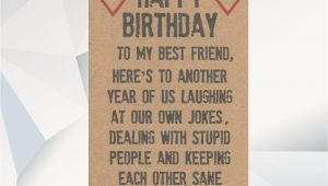 Funny Happy Birthday Cards for Best Friend Happy Birthday Best Friend Funny Birthday Card for Friend