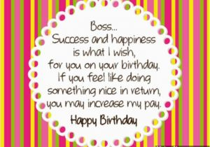 Funny Happy Birthday Quotes for Boss Birthday Wishes for Boss Quotes Quotesgram