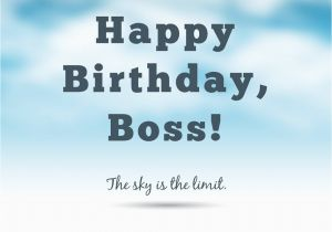 Funny Happy Birthday Quotes for Boss Professionally Yours Happy Birthday Wishes for My Boss