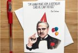 Funny Italian Birthday Cards Funny Don Movie Quote Birthday Card Movie Nerds Movie