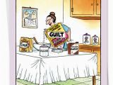 Funny Jewish Birthday Cards Jewish Moms Cereal Cartoons Birthday Mother Paper Card tom