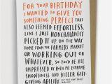 Funny Jokes to Put On A Birthday Card Awkward Birthday Card by Emily Mcdowell 136 C