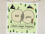 Funny Jokes to Write In Birthday Cards Dad Jokes Card Funny Father 39 S Day Card Funny Card for
