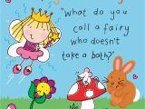Funny Kid Birthday Cards Fairy Funny Joke Birthday Card for Kids Tw435