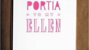 Funny Lesbian Birthday Cards Funny Lesbian Birthday Card Portia and Ellen