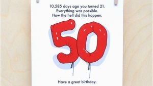 Funny Messages for 50th Birthday Card 50th Birthday Card Funny 50th Card Funny Age Card Funny