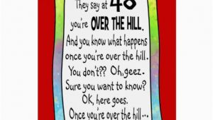 Funny Over the Hill Birthday Cards 40th Over the Hill Funny Birthday Greeting Card Zazzle