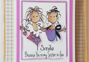 Funny Sister In Law Birthday Cards Card For