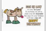 Funny son In Law Birthday Cards Handmade original Free Birthday Cards for son In Law