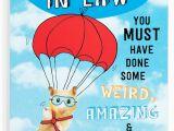 Funny son In Law Birthday Cards son In Law Birthday Card Funny Humour Joke Hamster