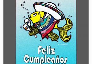 Funny Spanish Birthday Cards Happy In To Print