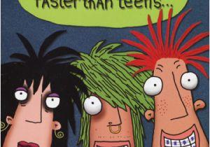Funny Teenage Birthday Cards Three Teenagers 1 Card 1 Envelope Oatmeal Studios Funny
