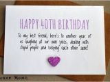 Funny Things to Write In A 40th Birthday Card Happy 40th Birthday Quotes Images and Memes