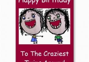 Funny Twin Birthday Cards 17 Best Images About Card For Twins On Pinterest