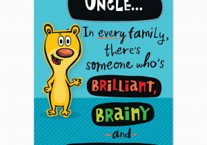 Funny Uncle Birthday Cards Happy Quotes Quotesgram