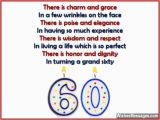 Funny Verses for 60th Birthday Cards 60th Birthday Poems Wishesmessages Com