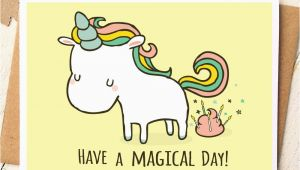 Gag Birthday Cards Unicorn Card Funny Birthday Card Unicorn Birthday Card