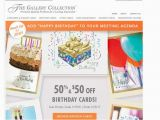 Gallery Collection Birthday Cards 55 Off Gallery Collection Coupon Code Save 20 W Promo