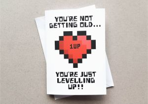 Gamer Birthday Cards Card Geeky You 39 Re Not