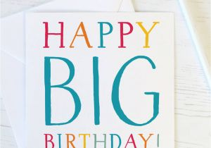 Giant 40th Birthday Card Happy Big 50th 60th 70th 80th Funny By