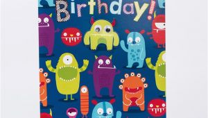 Giant Birthday Cards Uk Giant Birthday Card Monsters Only 99p