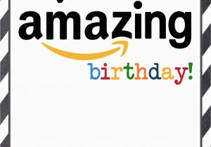 Gift Cards For Birthdays Online Amazon Birthday Free Printable Paper Trail Design