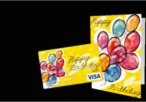 Gift Cards For Birthdays Online Birthday Customize A Visa Card