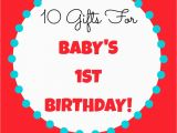 Gift for A Baby Girl On Her First Birthday 10 Gifts for Baby 39 S 1st Birthday