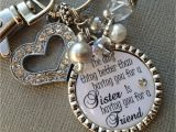 Gift for A Sister On Her Birthday Sister Gift Personalized Wedding Quote Birthday Gift Maid Of