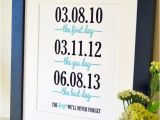 Gift for Wife On Her First Birthday Wedding Gift Art 8×10 Engagement Gift for Husband Birthday