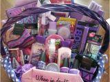 Gift Ideas for Friends Birthday Girl Sweet 16 All Purple Basket Gift Ideas Pinterest