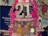 Gifts for 22nd Birthday Girl Alcohol Cake for 21st Birthday Girl Party On