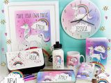Gifts for A Girl On Her Birthday Personalised Unicorn Gifts for Her Birthday Christmas