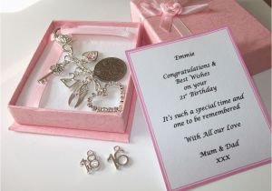 Gifts for An 18th Birthday Girl 18th 21st 16th Silver Personalised Girls Birthday Gift
