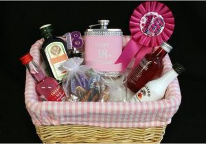 Gifts for An 18th Birthday Girl Personalised 18th Birthday Girls Alcohol Gift Basket My