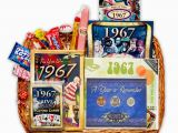 Gifts for Her 50th Birthday Special 50th Birthday Gift Basket for 1967