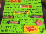 Gifts for Lover On Her Birthday for My Boyfriend On His Birthday Candy Birthday Card