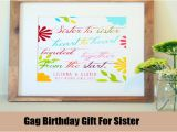 Gifts for Sister On Her Birthday Best Birthday Gift Ideas for Sister Unique Birthday
