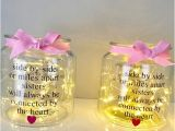 Gifts for Sister On Her Birthday Gifts for Sister Side by Side or Miles Apart Sister Birthday