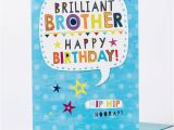 Gigantic Birthday Cards Giant Birthday Card Brilliant Brother Only 99p