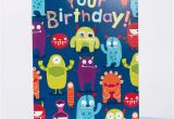 Gigantic Birthday Cards Giant Birthday Card Monsters Only 99p