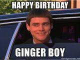 Ginger Birthday Meme Happy Birthday Ginger Boy Jim Carrey Limo Meme Generator